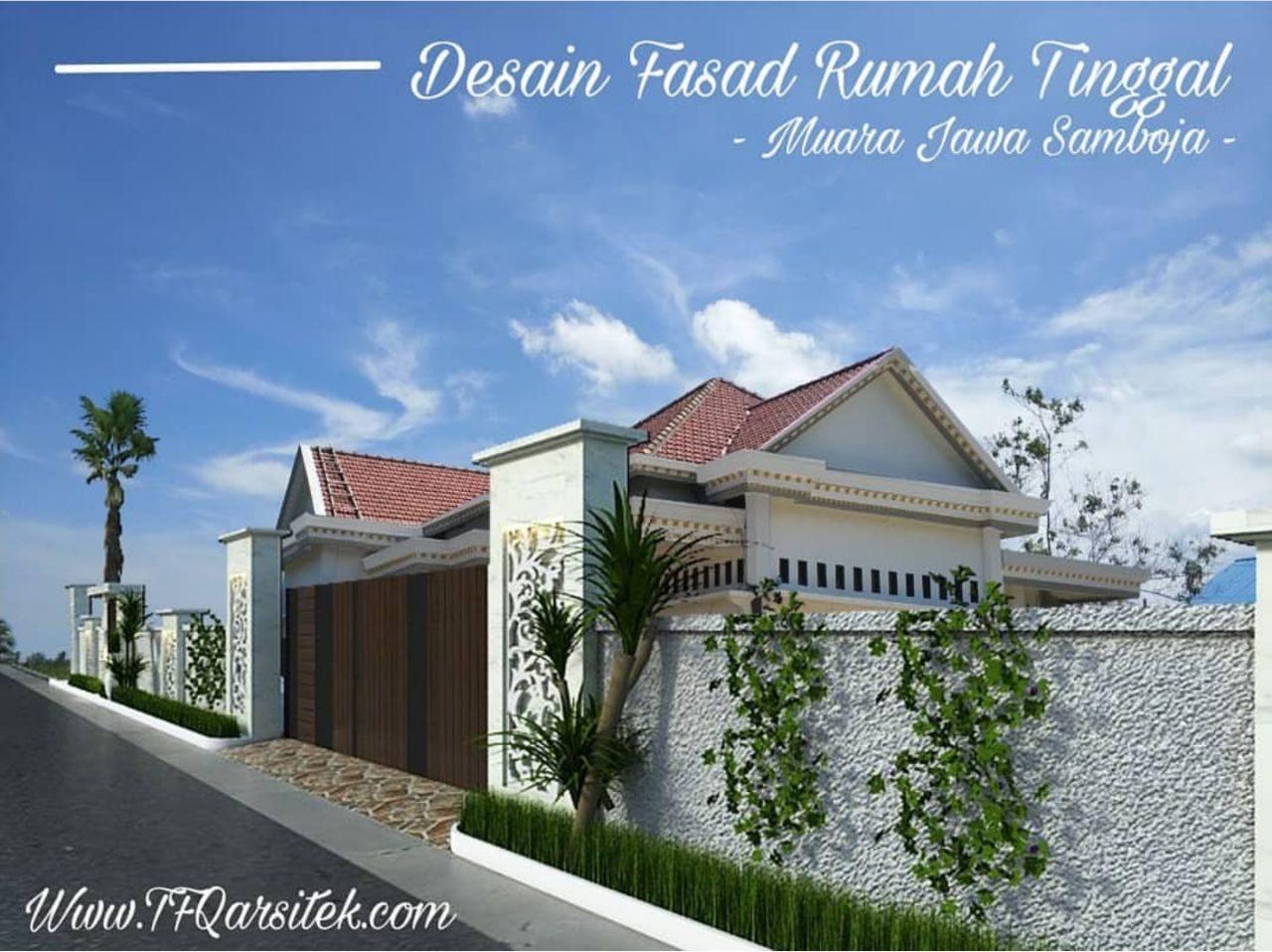 Desain Fasad Rumah Tinggal Samboja