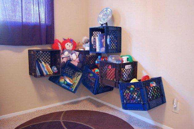 Rak penyimpanan mainan anak TFQ Artikel