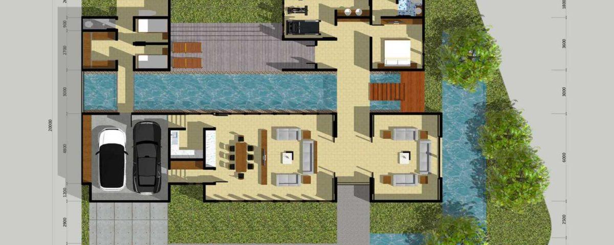 Bagaimana Cara Menggambar Denah Rumah Minimalis Tfq Arsitek Jasa Desain Rumah Kantor Balikpapan
